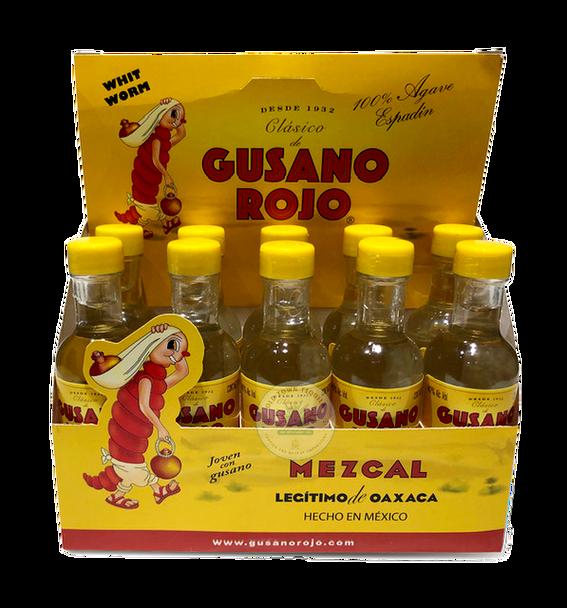 Gusano Rojo 50ml Ten Pack Mezcal