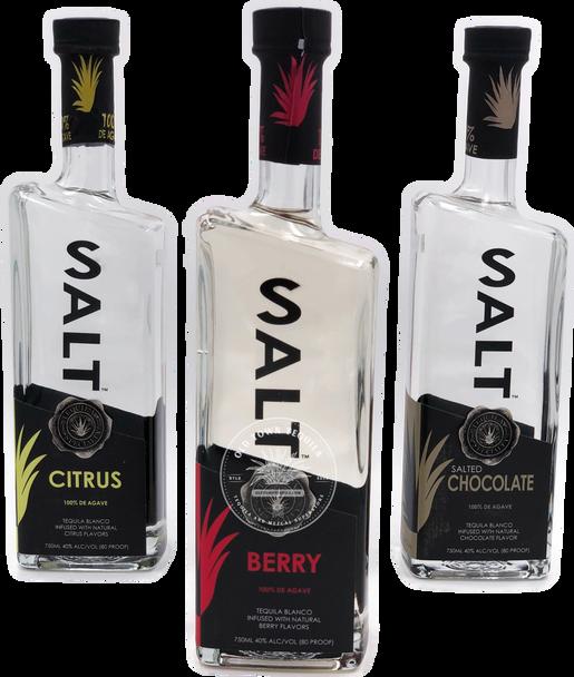 Salt Tequila 3x 750ml Set