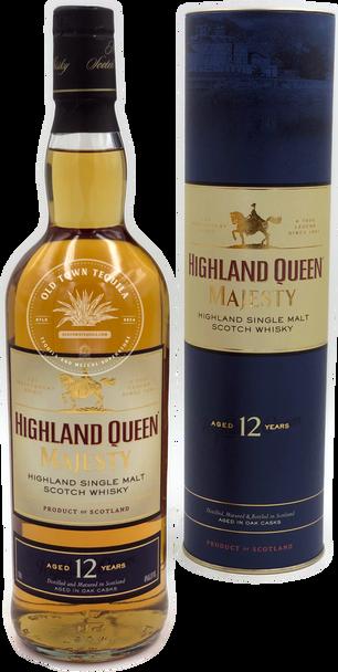 Highland Queen Majesty Highland Single Malt Scotch Whisky Aged 12 Years