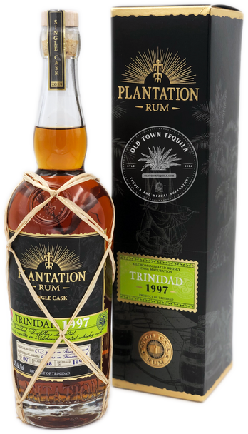 Plantation Trinidad 1997 Single Cask Rum 750ml