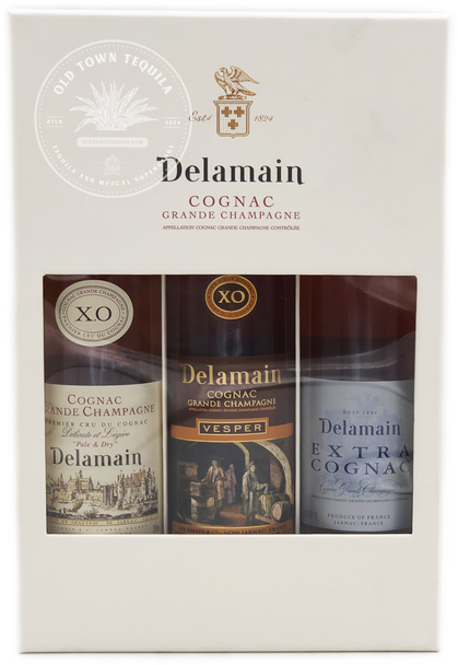 Delamain Trio Cognac Grande Champagne 3x200ml