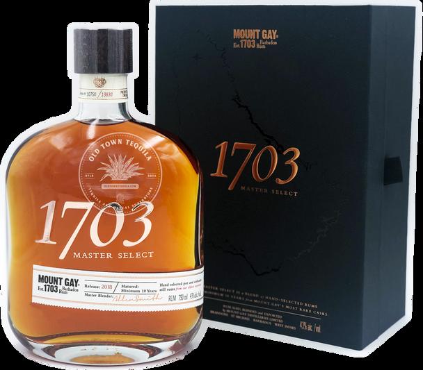 Mount Gay 1703 Master Select Barbados Rum 750ml