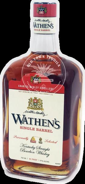 Wathen's Single Barrel Kentucky Straight Bourbon Whiskey 750ml