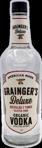 Grainger's Deluxe Organic Vodka 750ml