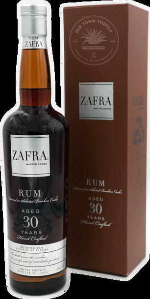 Zafra Master Series Rum Aged 30 Years 750ml