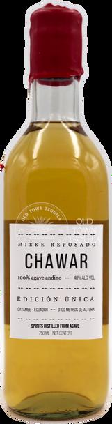 Chawar Reposado Andean Agave Spirit 750ml