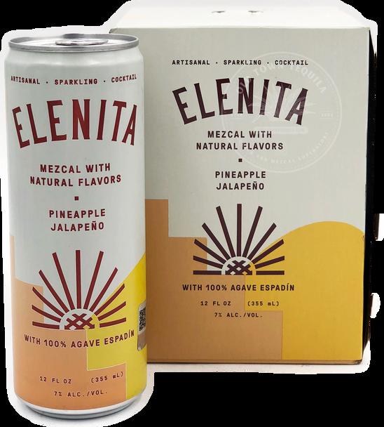 Elenita Mezcal Pineapple Jalapeño 4 Pack