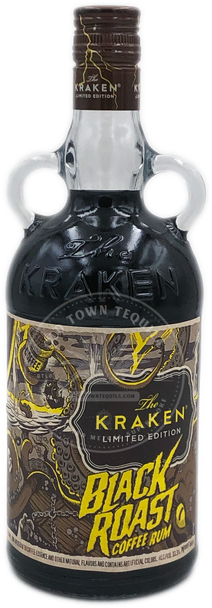 The Kraken Limited Edition Black Roast Coffee Rum 750ml