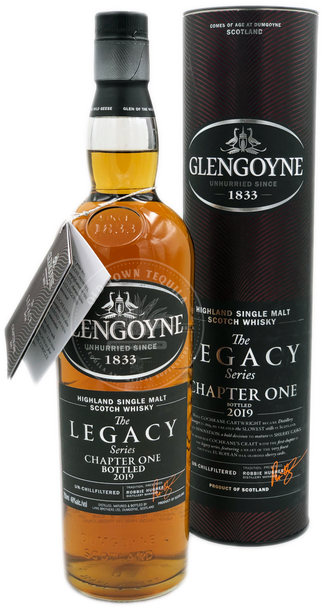 Glengoyne The Legacy Series Chapter One Highland Single Malt Scotch Whisky 750ml
