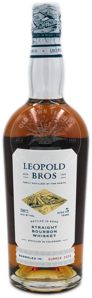 Leopold Bros Straight Bourbon Whiskey Aged 5 Years 750ml