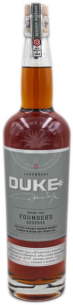 Duke Grand Cru Founders Reserve Kentucky Straight Bourbon Whiskey 750ml