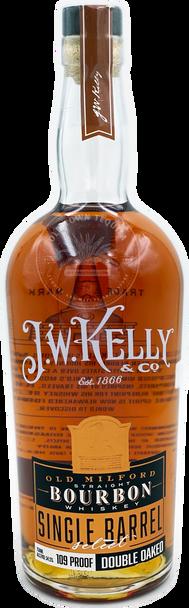 J.W. Kelly Old Milford Straight Bourbon Whiskey Single Barrel Select