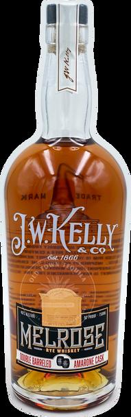 J.W. Kelly Melrose Rye Whiskey 750ml