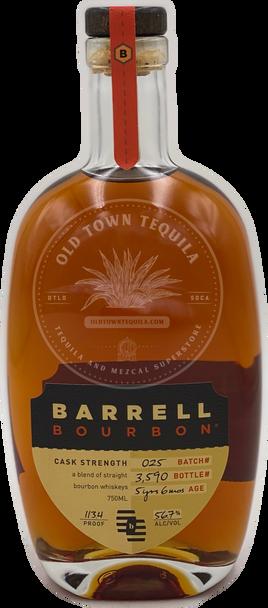 Barrell Bourbon Batch 025 750ml