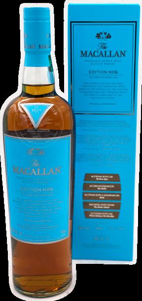 The Macallan Edition No. 6 Highland Single Malt Scotch Whisky 750ml