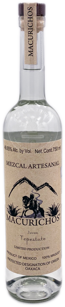Macurichos Mezcal Joven Tepeztate 750ml