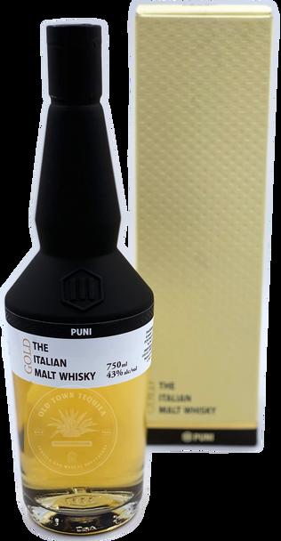 Puni Gold The Italian Malt Whisky 750ml