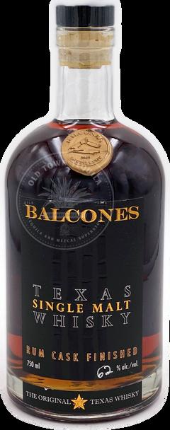 Balcones Texas Single Malt Whisky Rum Cask Finish