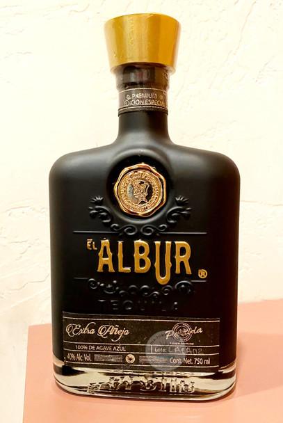 Albur Extra Anejo Black Bottle Tequila