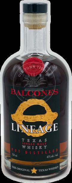 Balcones Lineage Texas Single Malt Whisky 750ml