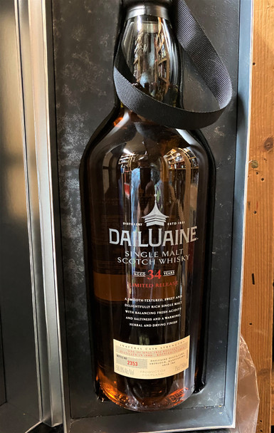Dailuaine Limited Release 34 Year