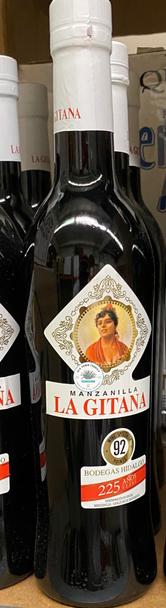 Hidalgo La Gitana Manzanilla 500ml Spanish Sherry