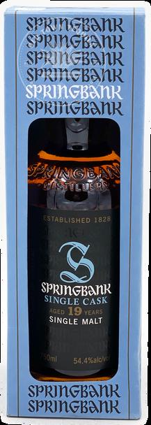 Springbank Single Cask Aged 19 Years Single Malt Scotch Whisky