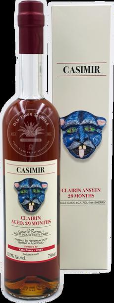 Casimir Clairin Rum Aged 29 Months 750ml