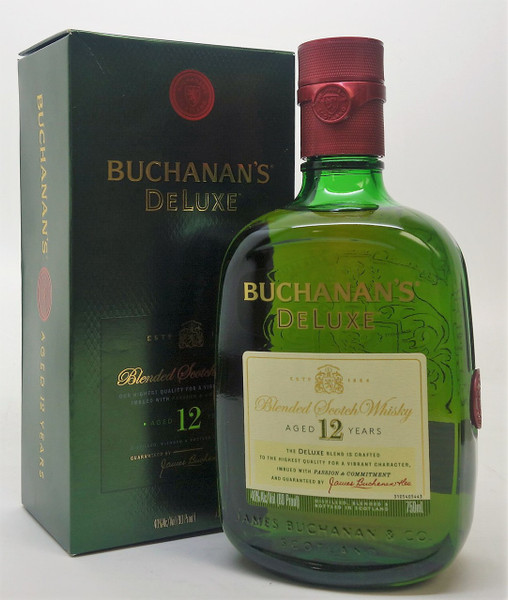 Buchanan Drink: Buchanan's DeLuxe Blended Scotch Whisky 12 Years