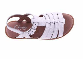 clarks havana white top