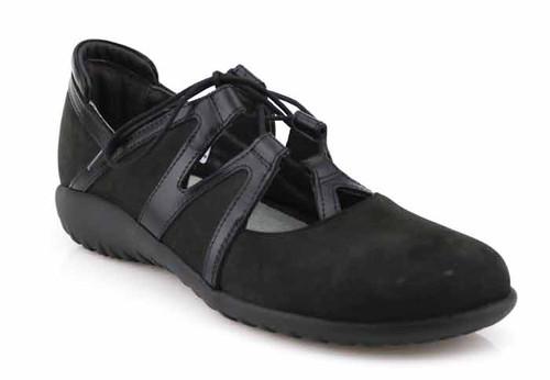 naot timu black shoe