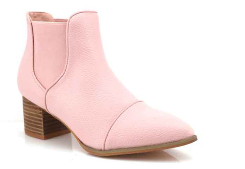 walnut kool boot pink