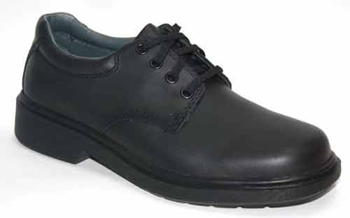 0281a73c7efea Clarks Daytona Inj Black Lace Senior School Shoe