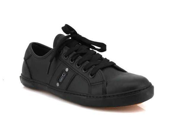 airwalk tamarama leather black