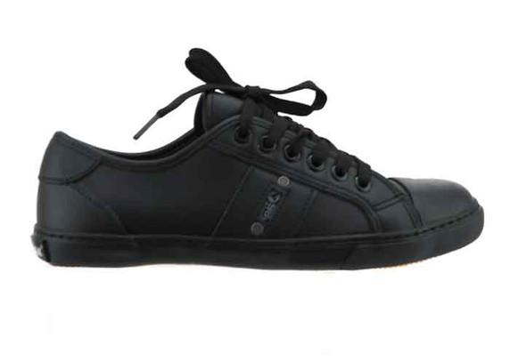 airwalk tamarama leather black side