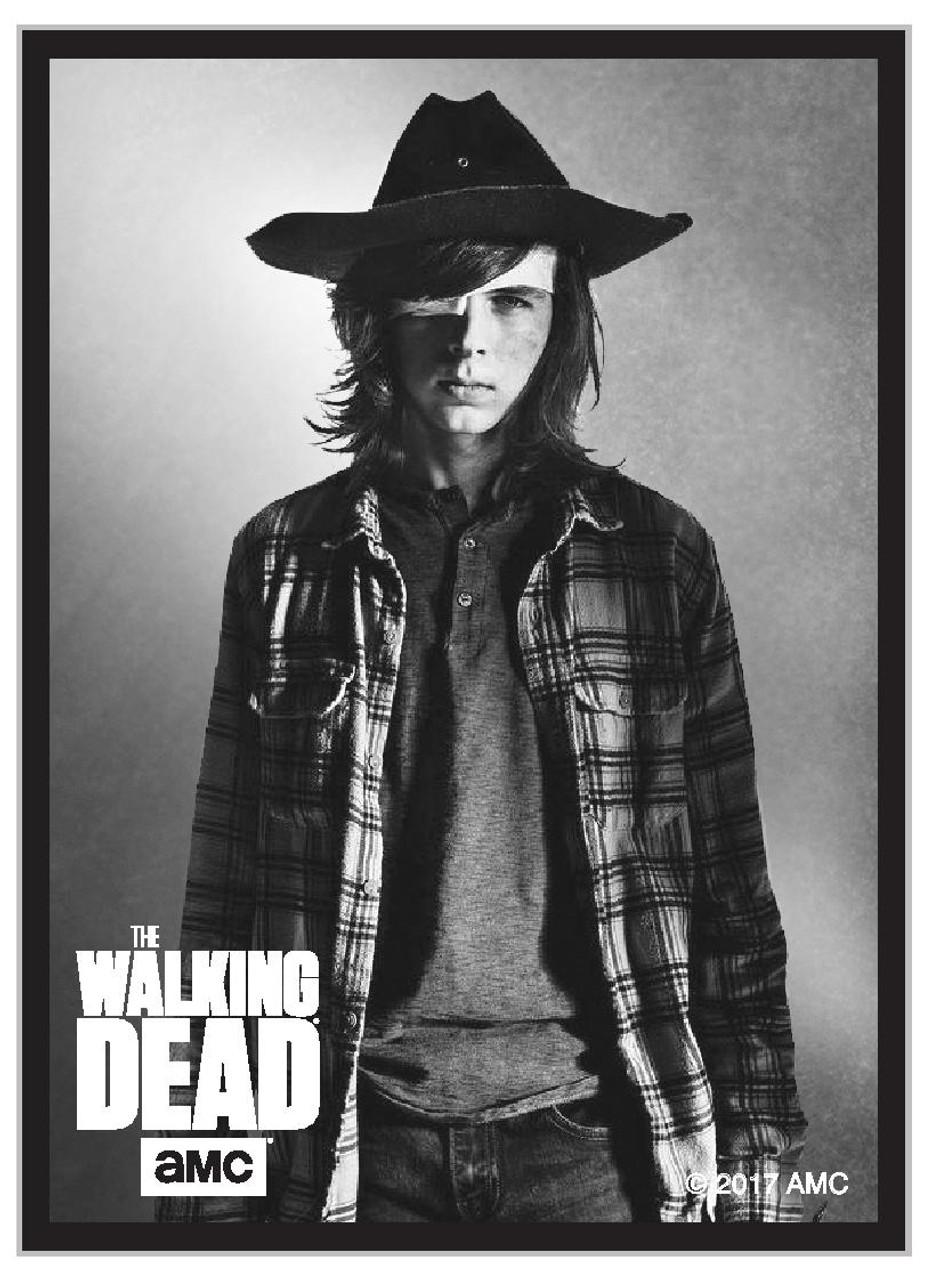 The Walking Dead Carl Standard Size Card Sleeves 50ct Game Nerdz