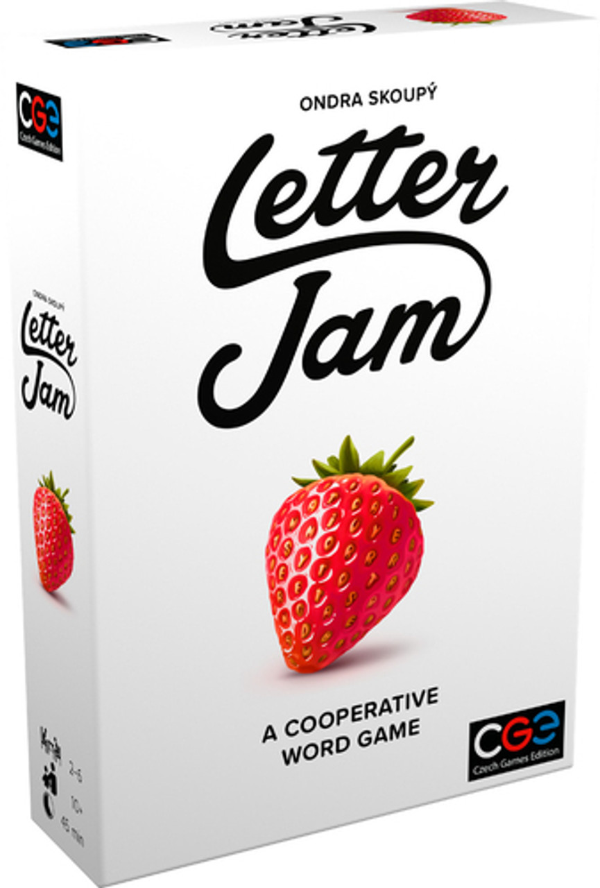 Letter Jam, a deductive cooperative word game