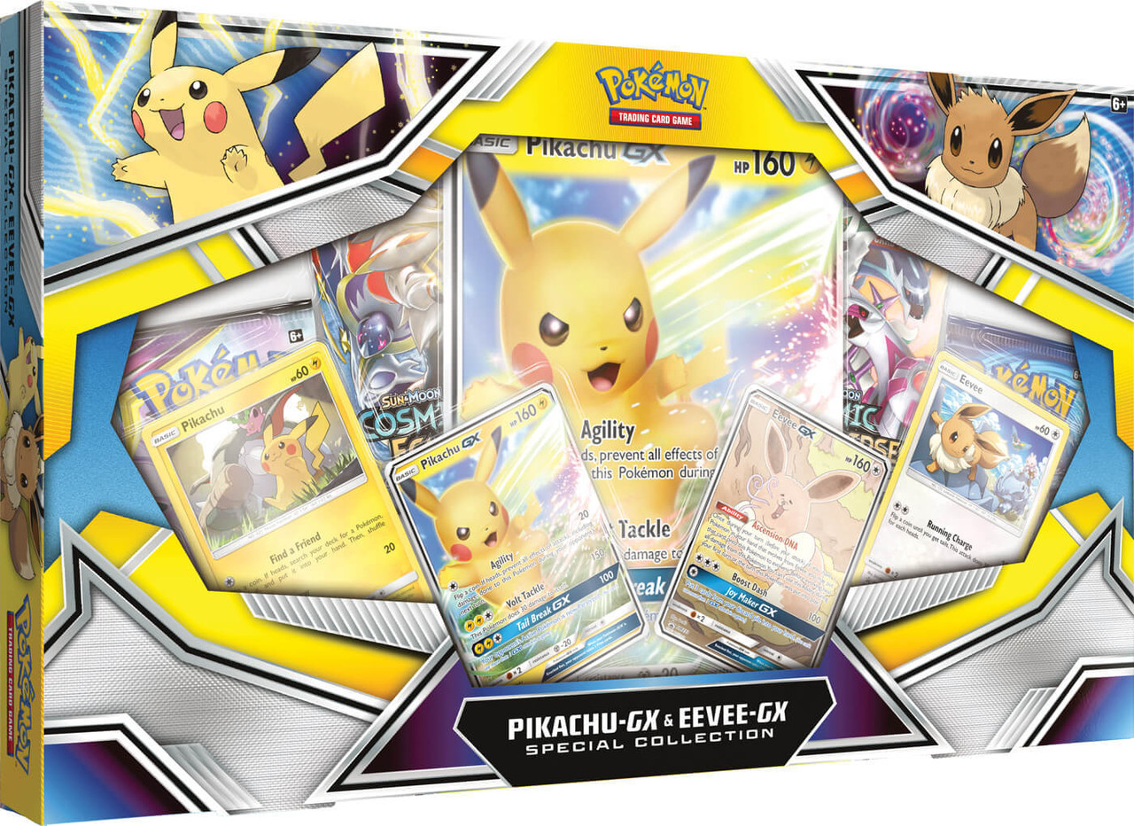 Pokemon Pikachu Gx Eevee Gx Special Collection