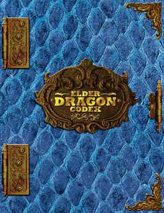 Elder Dragon Codex Binder (Blue)