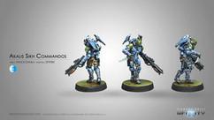 Infinity: PanOceania Akalis Sikh Commandos (spitfire)