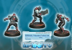 Infinity: Nomads Wildcats, Polyvalent Tactical Unit (Spitfire)