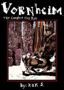 Vornheim: The Complete City Kit Hardcover