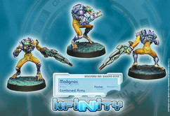Infinity: Combined Army Malignos (Hacker)