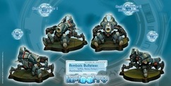 Infinity: PanOceania Armbots Bulleteer (Spitfire, Heavy Shotgun)