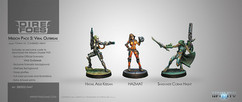 Infinity: Dire Foes Mission Pack 5: Viral Outbreak