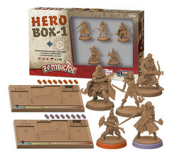 Zombicide Black Plague: Hero Box 1