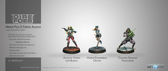 Infinity: Dire Foes Mission Pack 2 - Fleeting Alliance