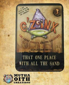 G'Zoink: That One Place with All the Sand - Expansion 4 (Clearance)