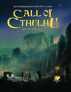 Call of Cthulhu RPG: Keeper Screen