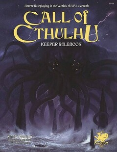 Call of Cthulhu RPG 7th Edition: Keeper Rulebook (Hardcover)